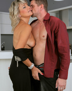 Sherry D takes her man's cock