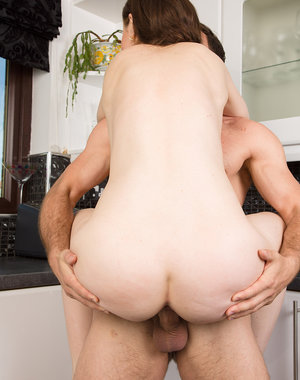 Tina Kay shows her perfect butt and has fun with her horny guy